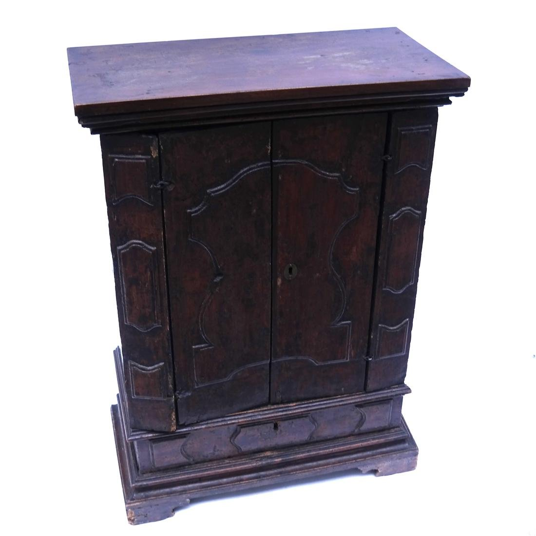 17-18th Century Continental Cabinet