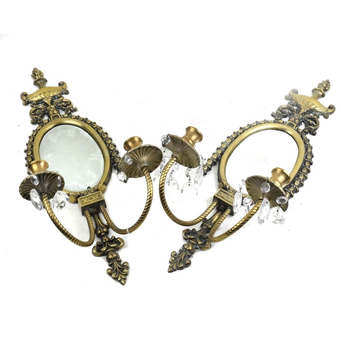 Pair of Mirror Sconces
