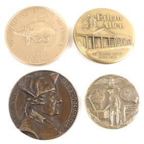 Group Of Bronze Medals