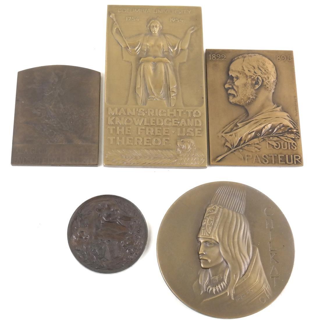 Group of Five Bronze Medals