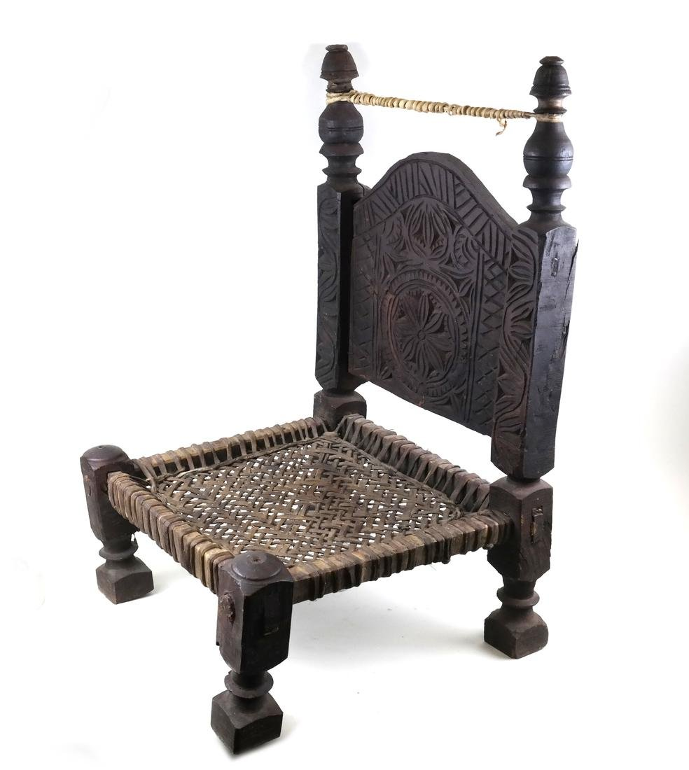 Antique Continental Low Chair