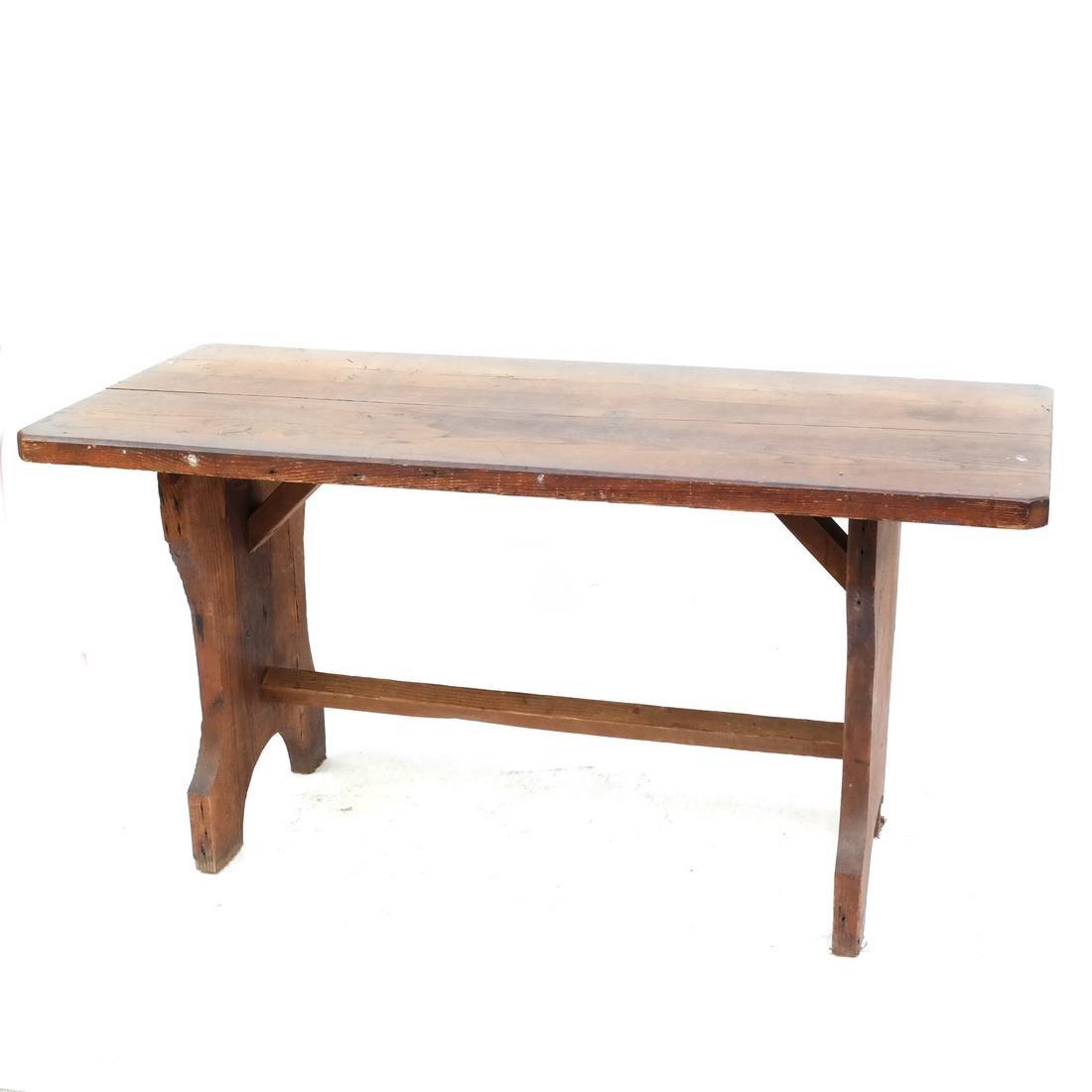 Antique Oak Tavern Table