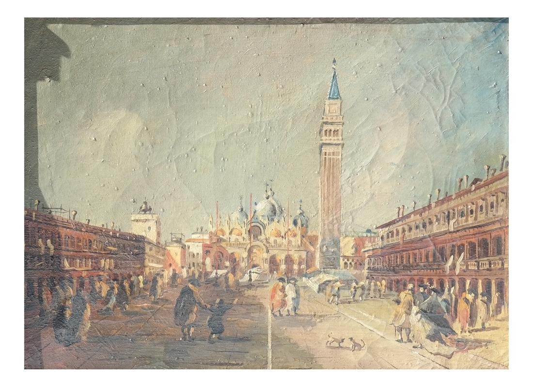 Manner of F. Guardi, St. Mark's Square, Venice