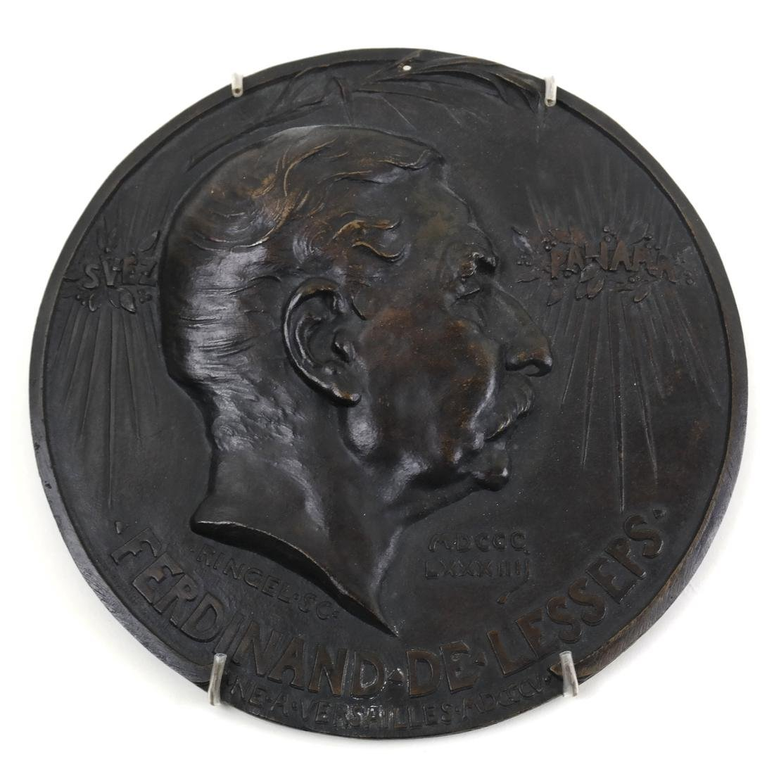 Jean Ringel Bronze Plaque