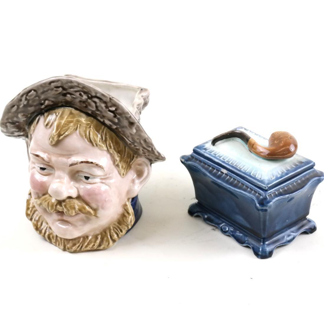 English Toby Mug and Pipe Motif Box