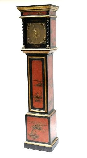 18th C.-style Chinoiserie Grandfather Clock