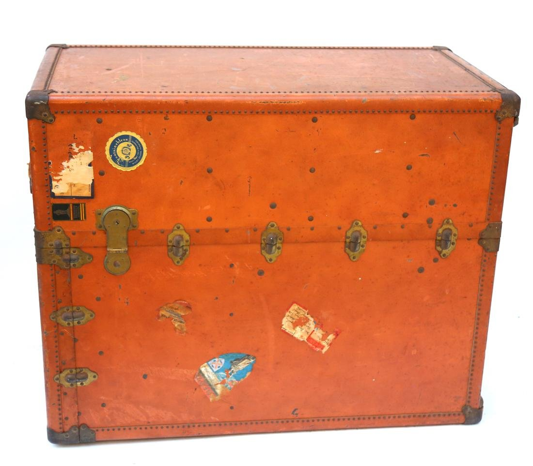Vintage Steamer Trunk by Oskosh Trunk & Leather Co.