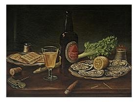 L. W. Prentice, Still Life - Oil On Canvas