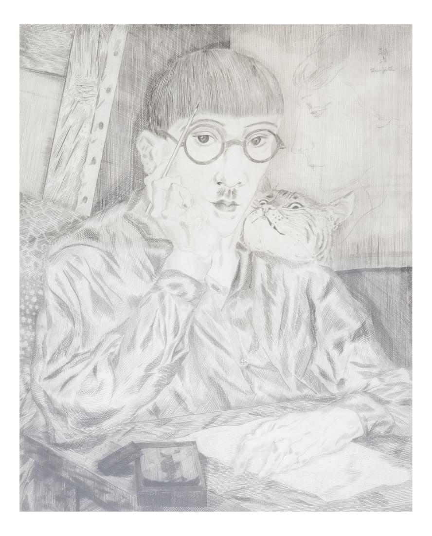 Foujita, Self Portrait