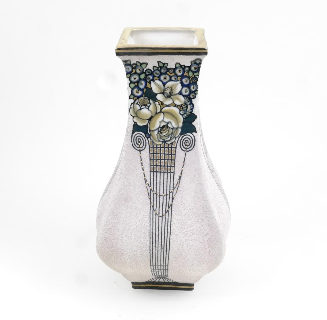Ernst Wahliss Art Deco Vase, Vienna