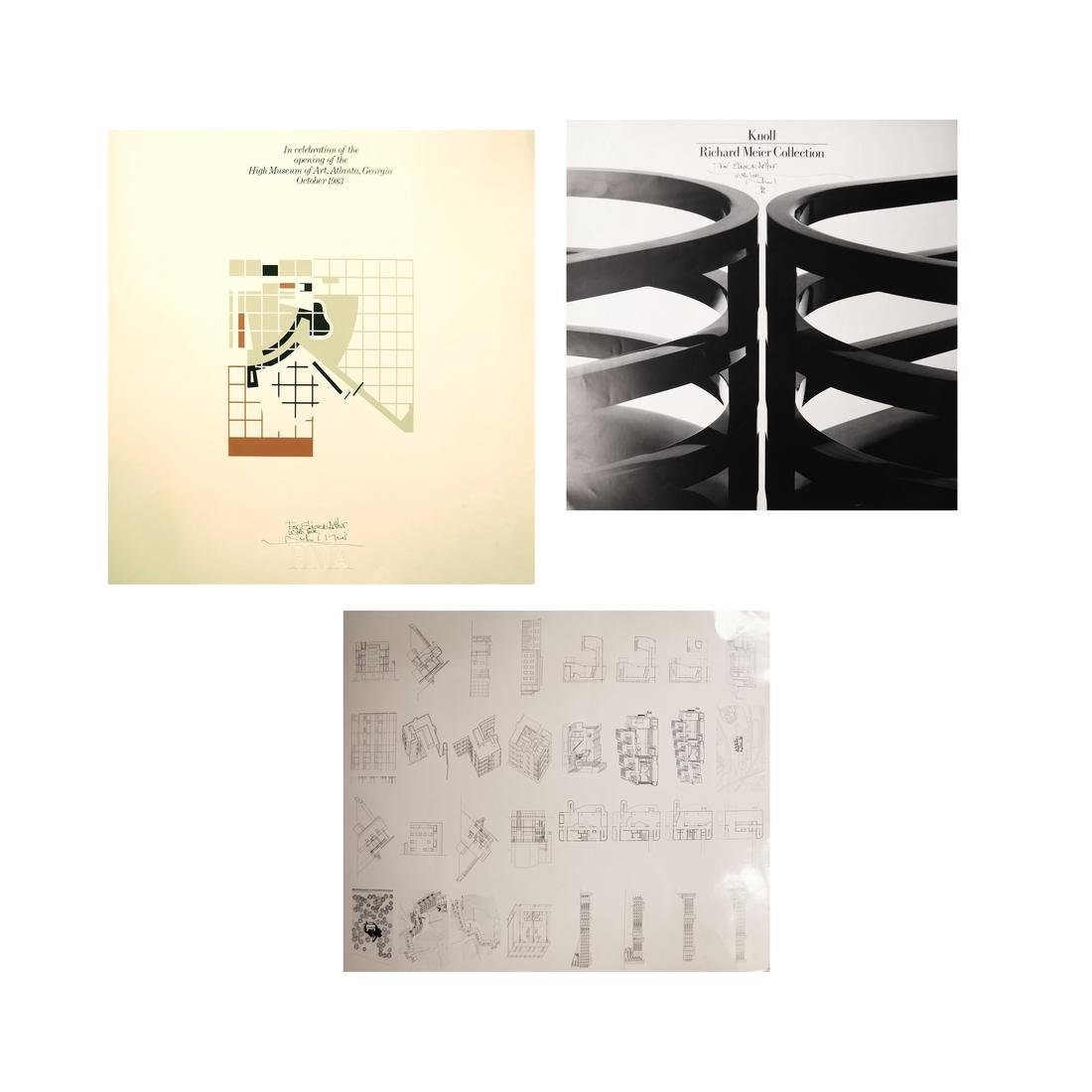 Richard Meier - Signed Posters and Other