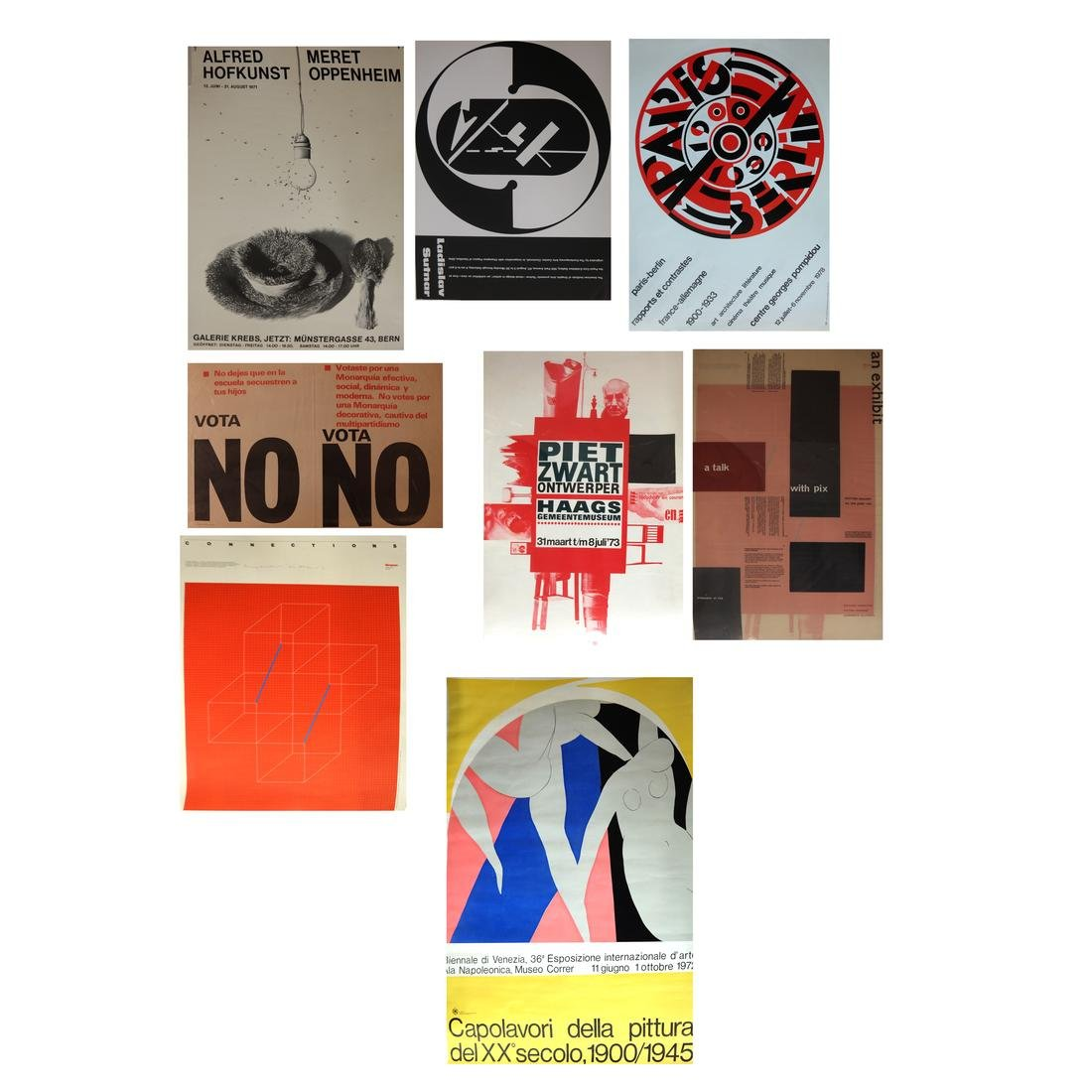 Assorted International Exhibition Posters & Others