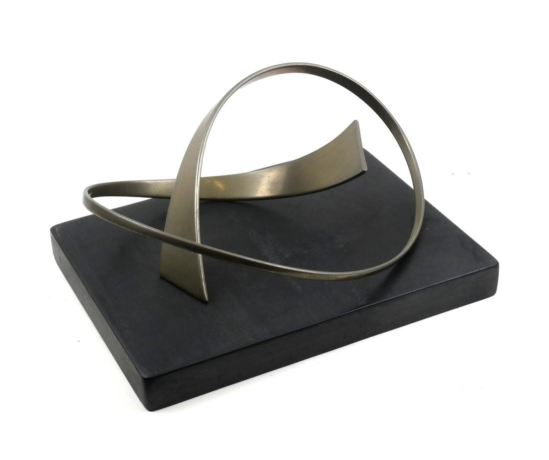 Abstract Steel Sculpture