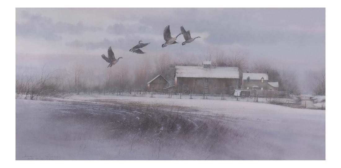 """Jeffrey H. Craven, """"Time of the Season"""" - Geese"""