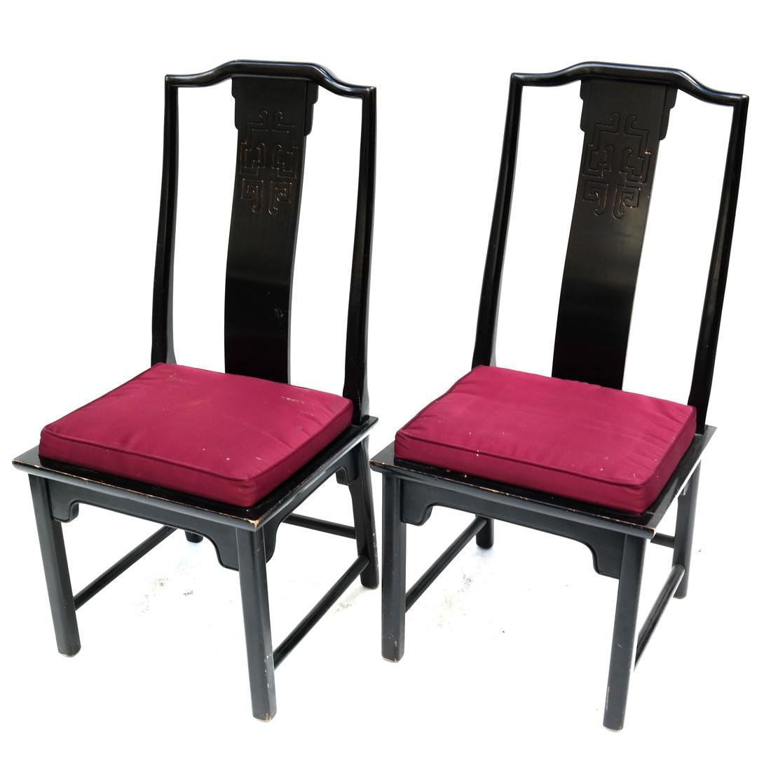 Pair of Chinese-Style Side Chairs