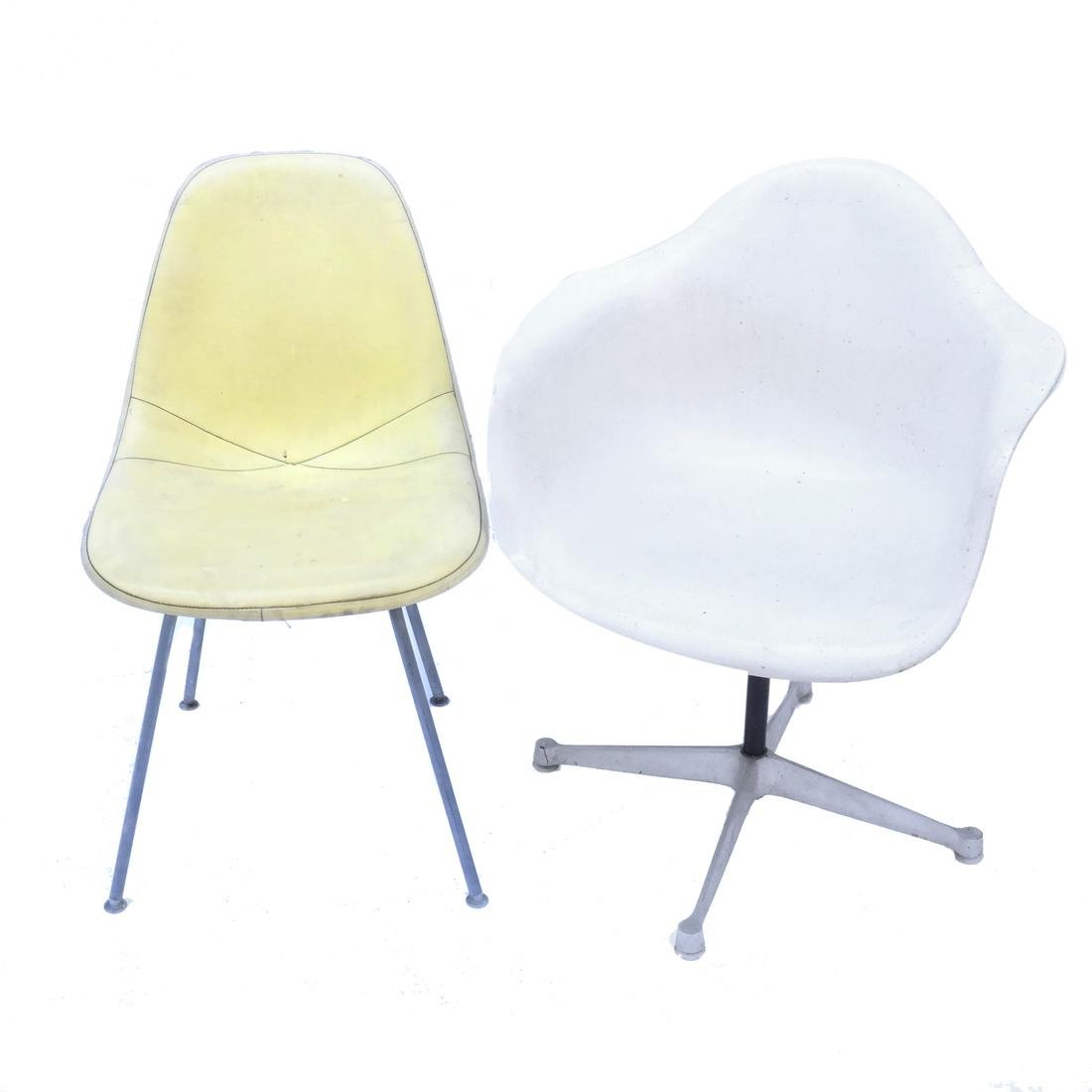 Two Charles & Ray Eames Vintage Chairs