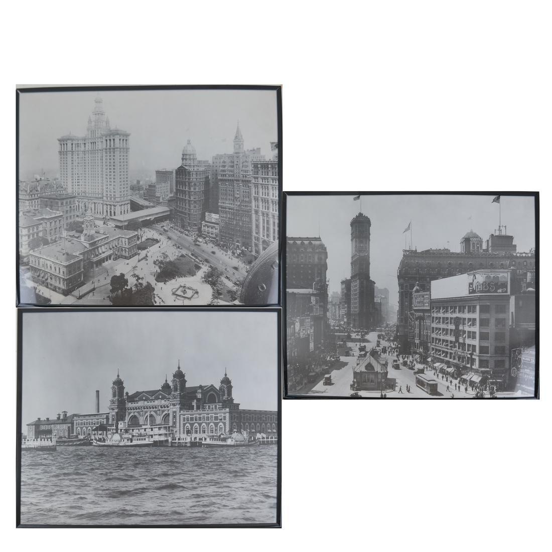 Three New York City Prints