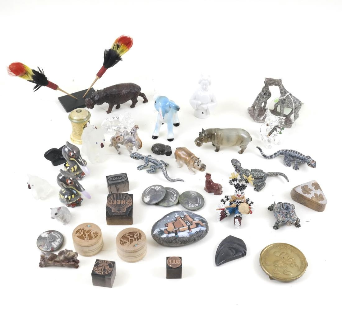 Boxed Lot Of Assorted Decorations
