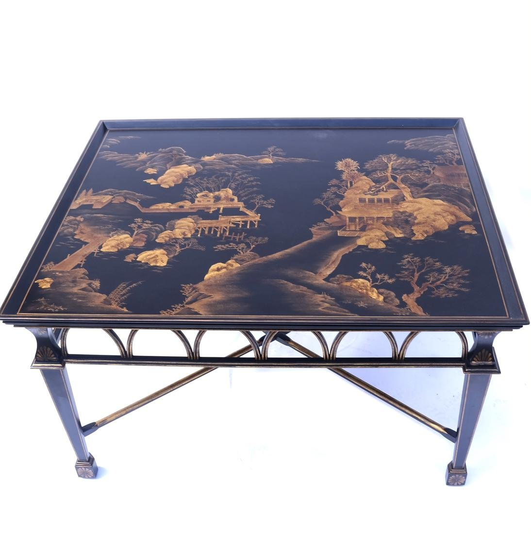 Chinoiserie-Style Cocktail Table
