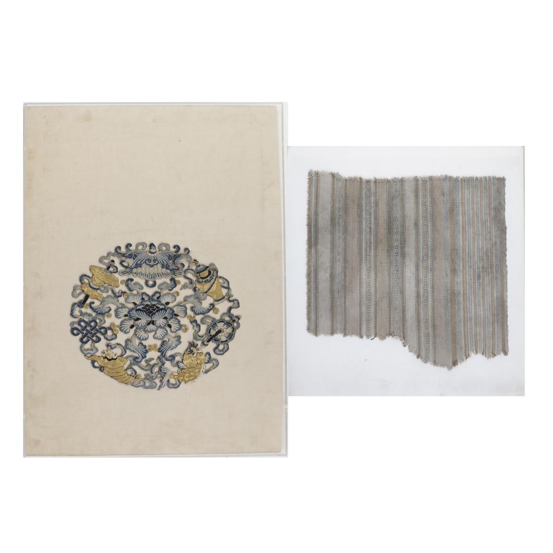 Two Antique Asian Textiles