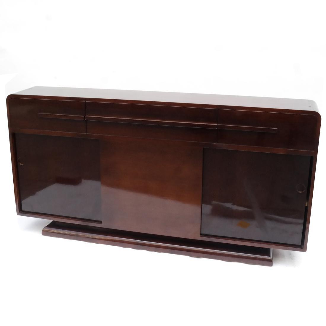 Modernage 1930s Streamline Sideboard