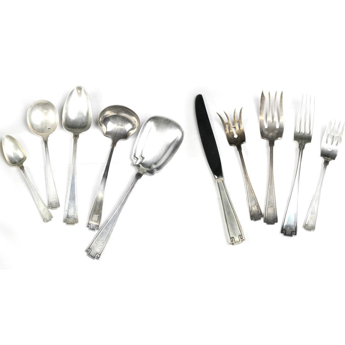 Gorham 114 Piece Silver Flatware Service