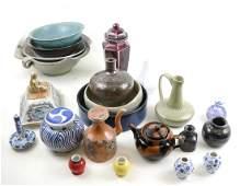 20 Various Porcelain and Ceramic Vessels