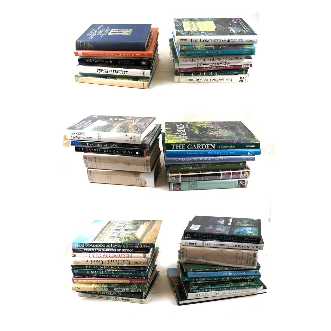 Library of 45 Books - Gardening