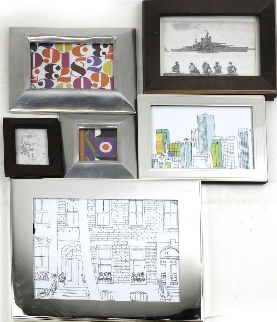 Seven Assorted Framed Pictures