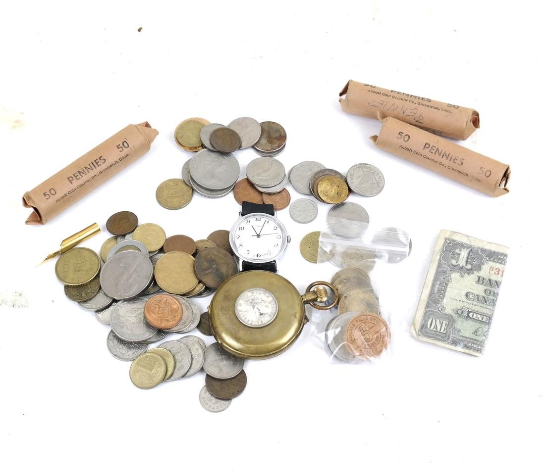 20th Century World Wide Coins & Others