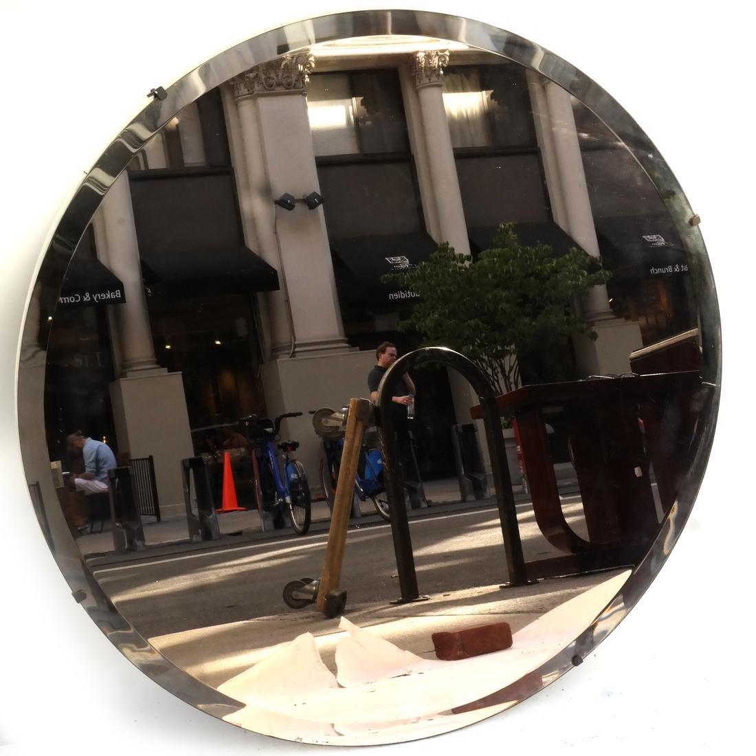 20TH Century Modern Round Mirror
