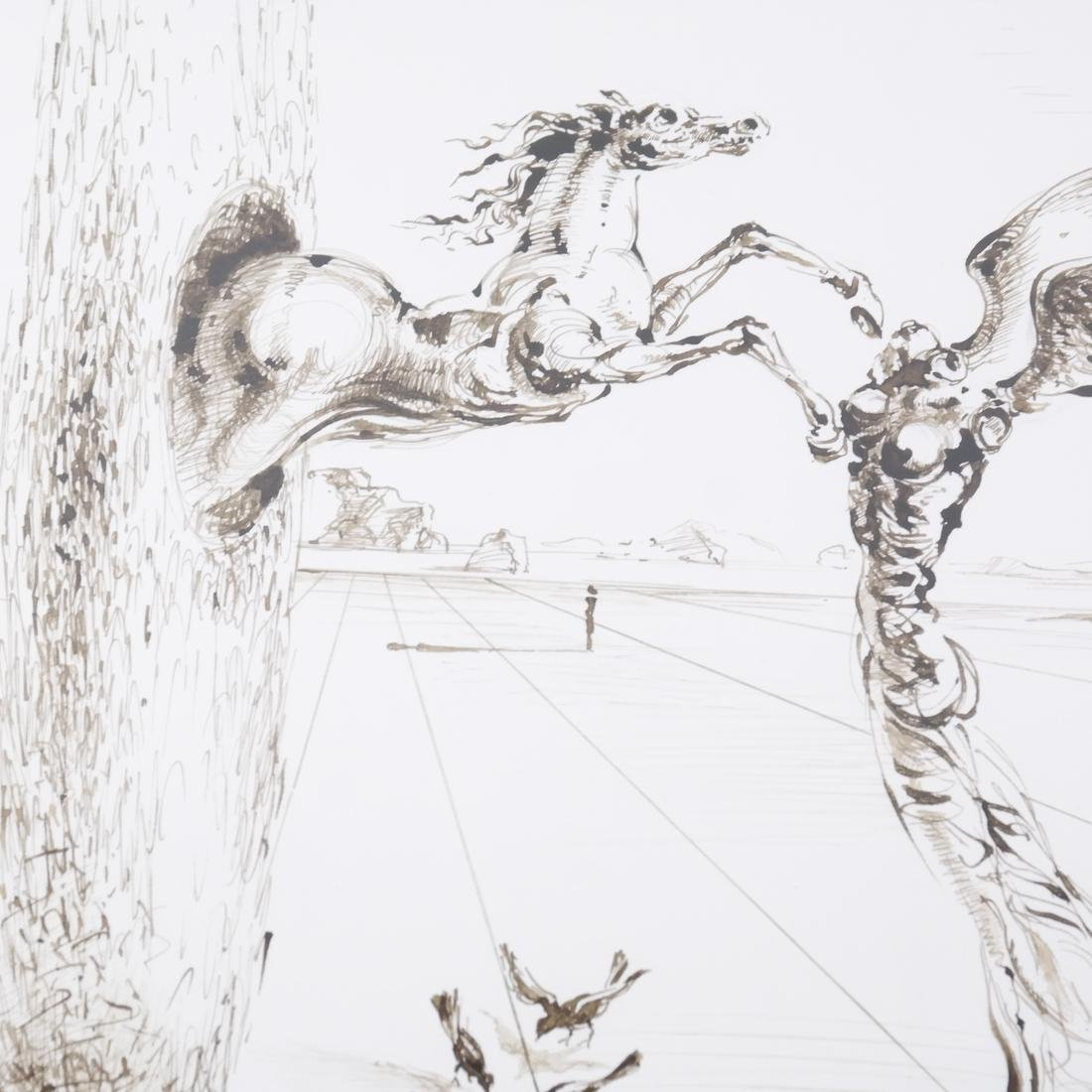 """Salvador Dali, """"The Reality of a Dream"""" - Pen & Ink - 9"""