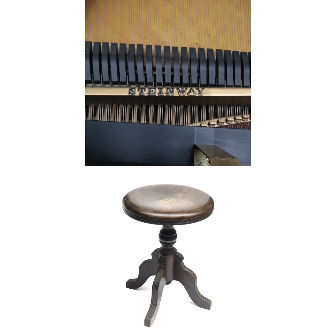 Steinway & Sons Studio Grand Piano, Model 404061 M - 10