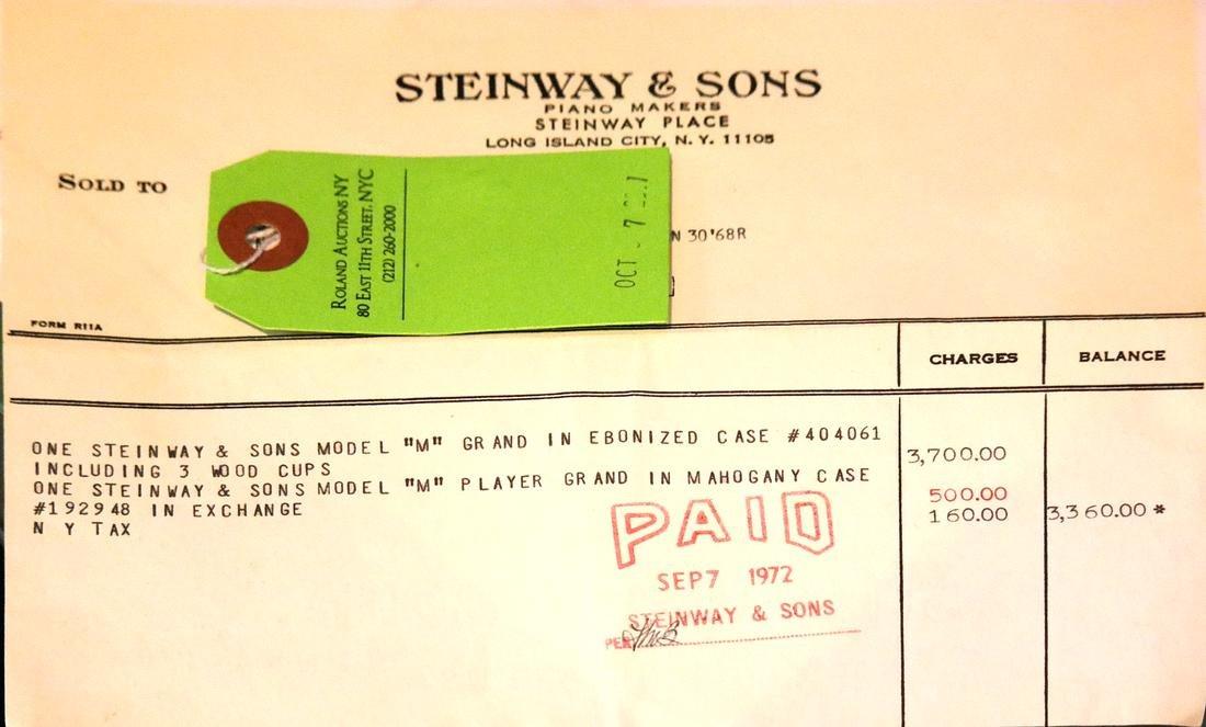 Steinway & Sons Studio Grand Piano, Model 404061 M - 2