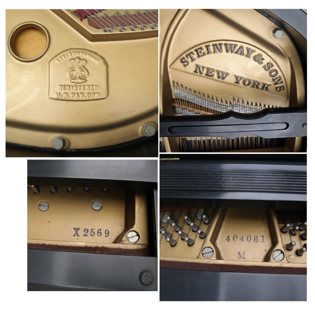 Steinway & Sons Studio Grand Piano, Model 404061 M - 3