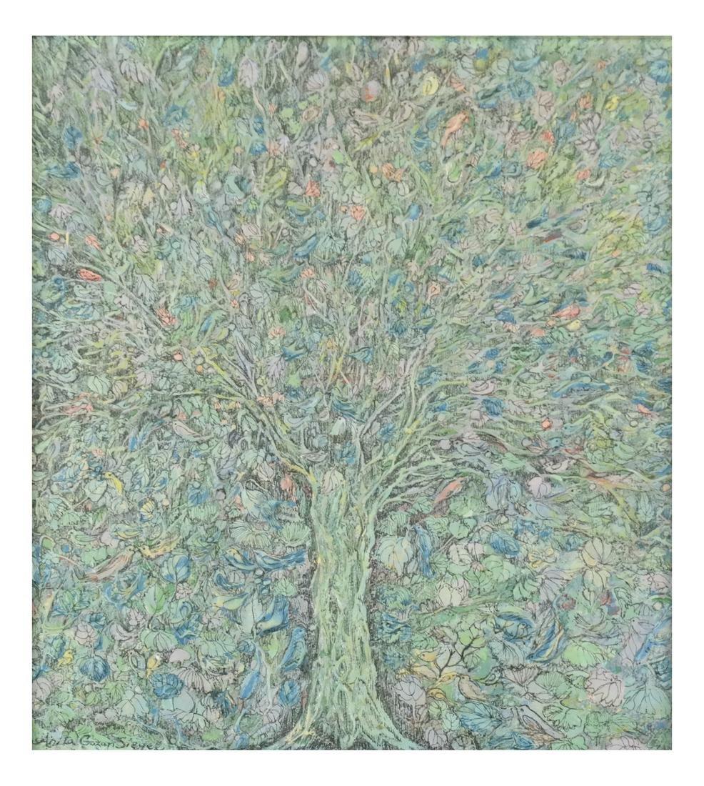 Anvita Gowzan Sieger, Trees - Acrylic