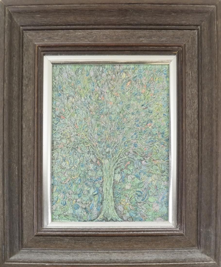 Anvita Gowzan Sieger, Trees - Acrylic - 2
