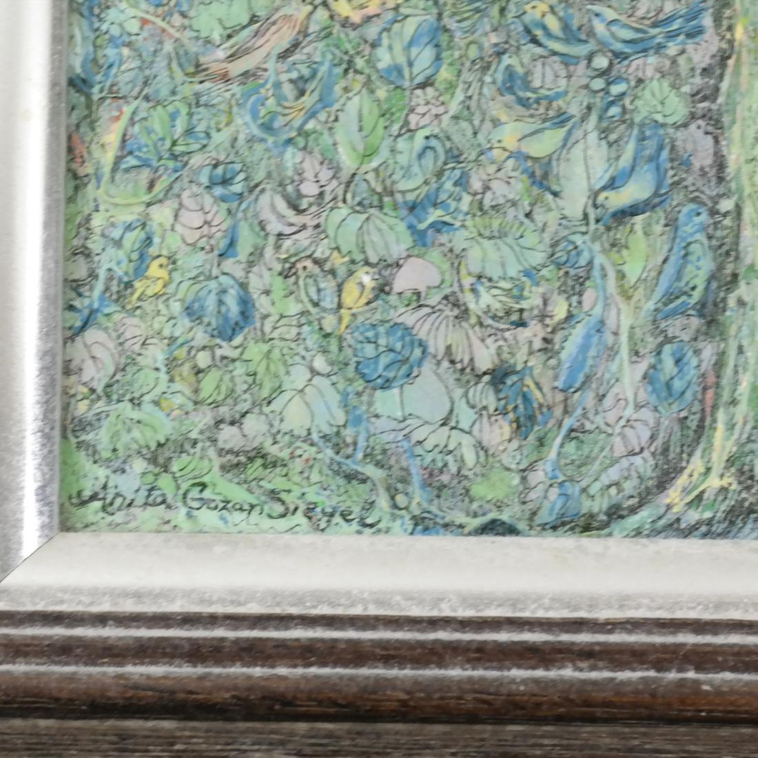 Anvita Gowzan Sieger, Trees - Acrylic - 3