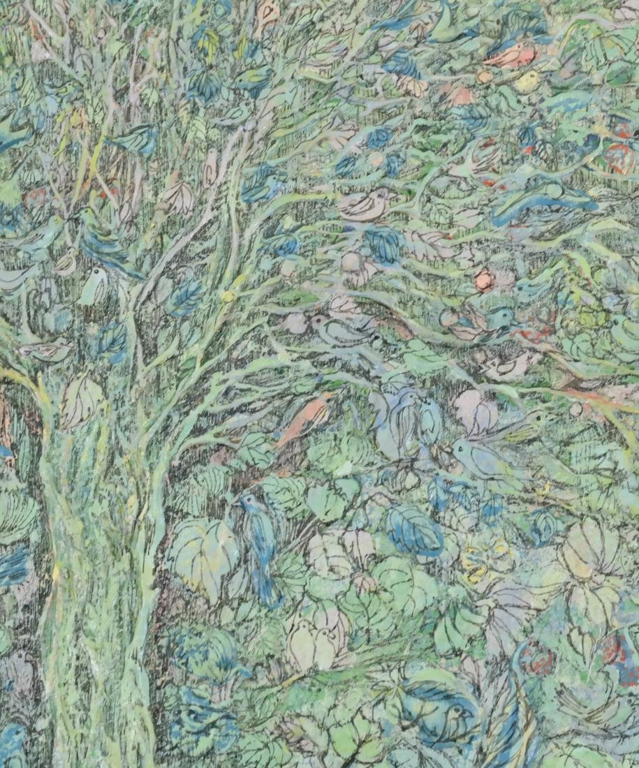 Anvita Gowzan Sieger, Trees - Acrylic - 4