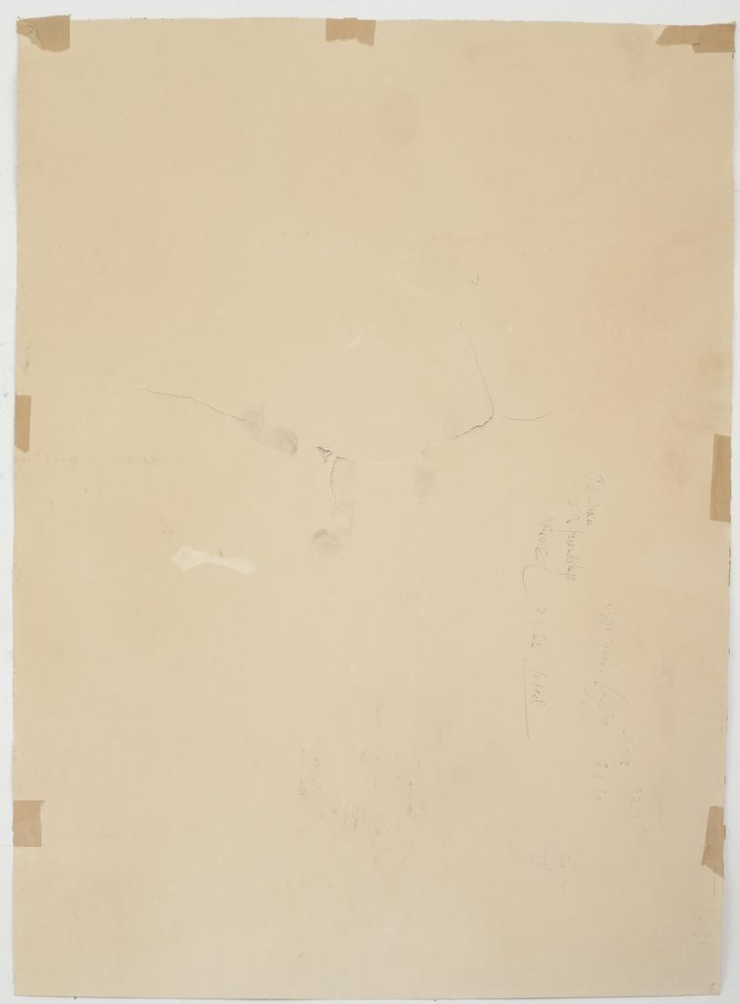 Assorted Folio of Art & 3 Watercolors - 7