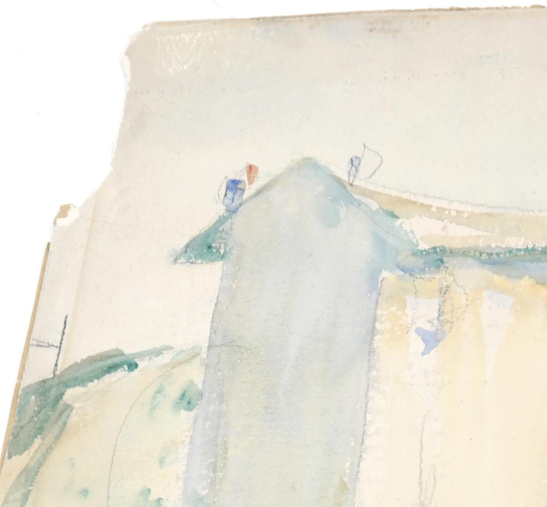Assorted Folio of Art & 3 Watercolors - 9
