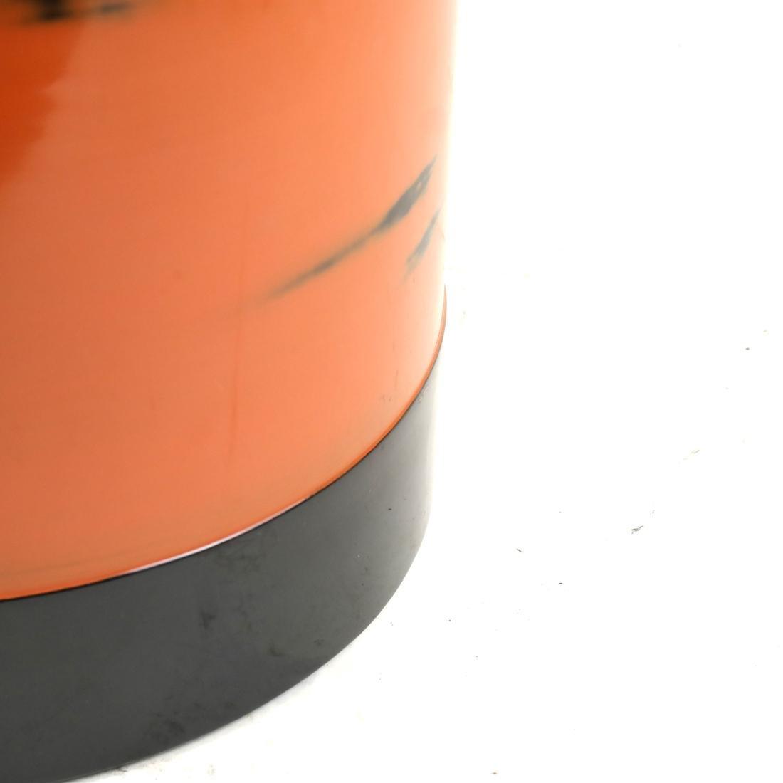 Orange Lacquered Planter - 5