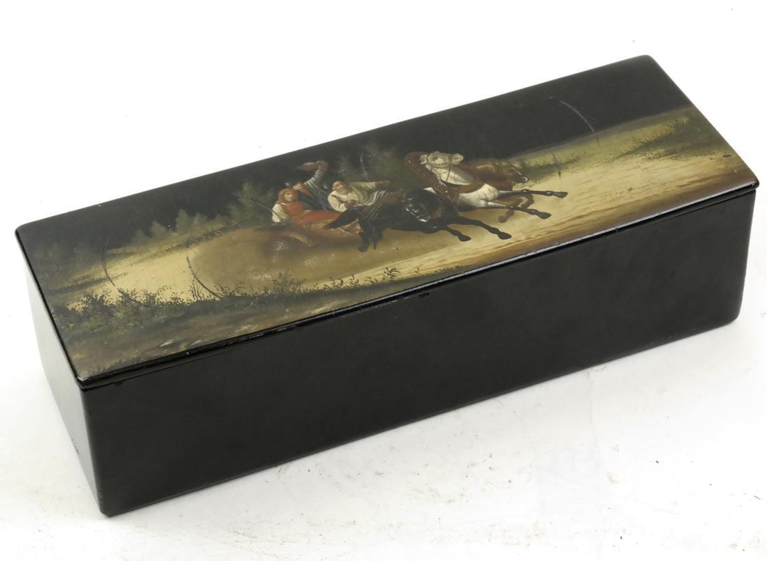 Russian Troika Decorated Box
