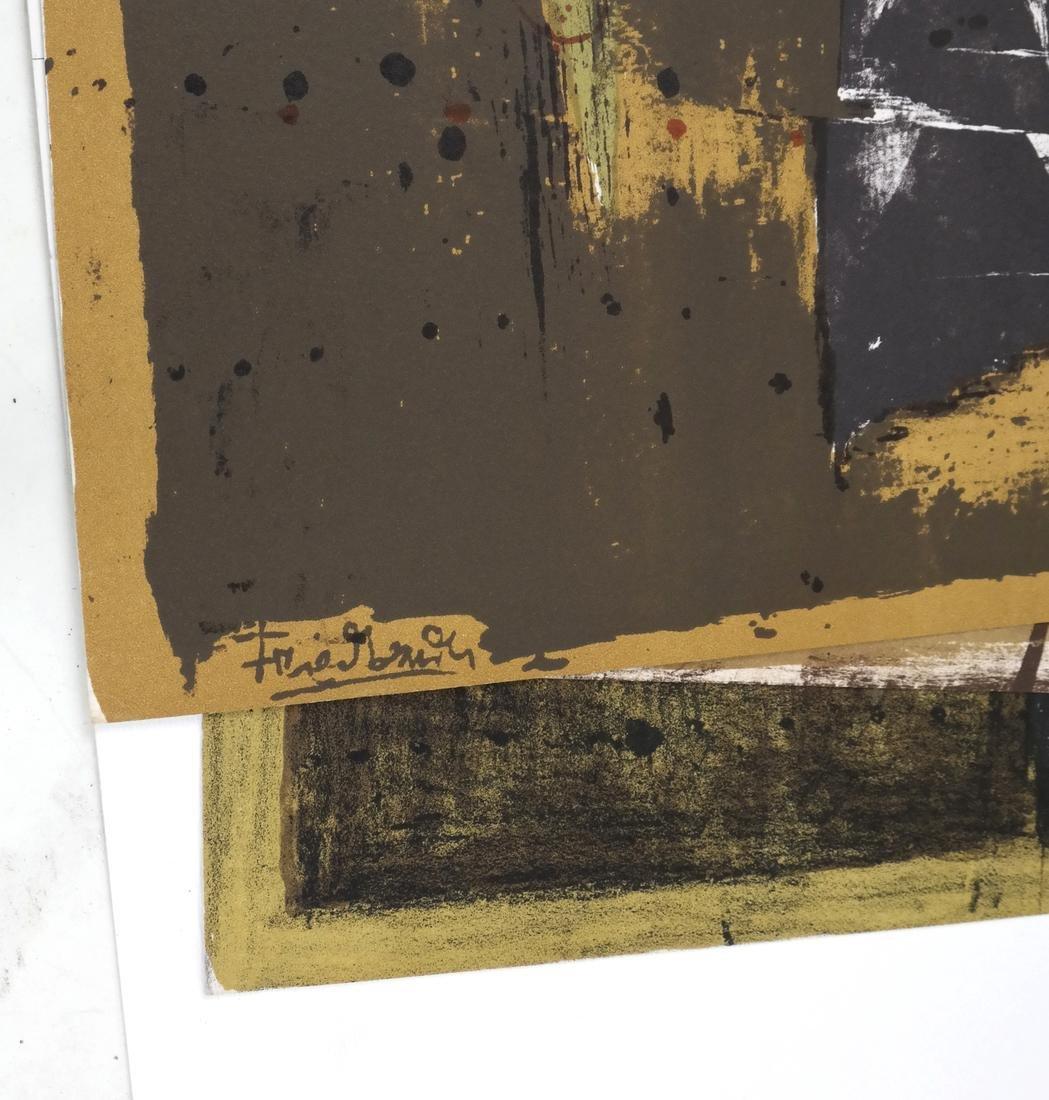 Johnny Friedlander, Three Lithographs - 6