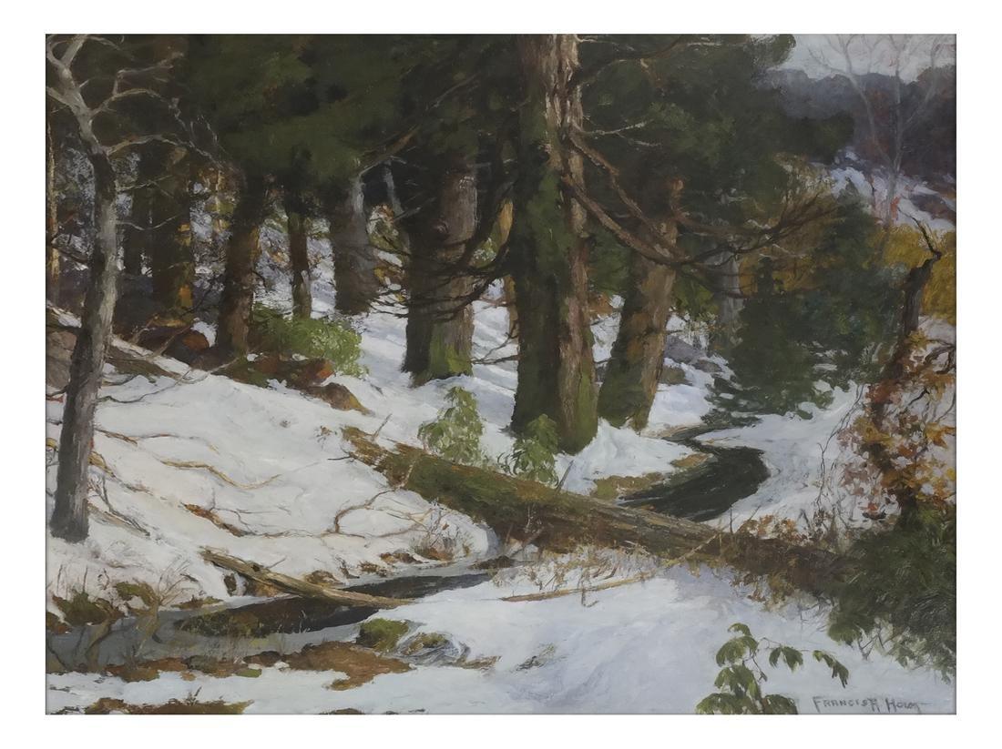 Francis H. Holm, Winter Scene