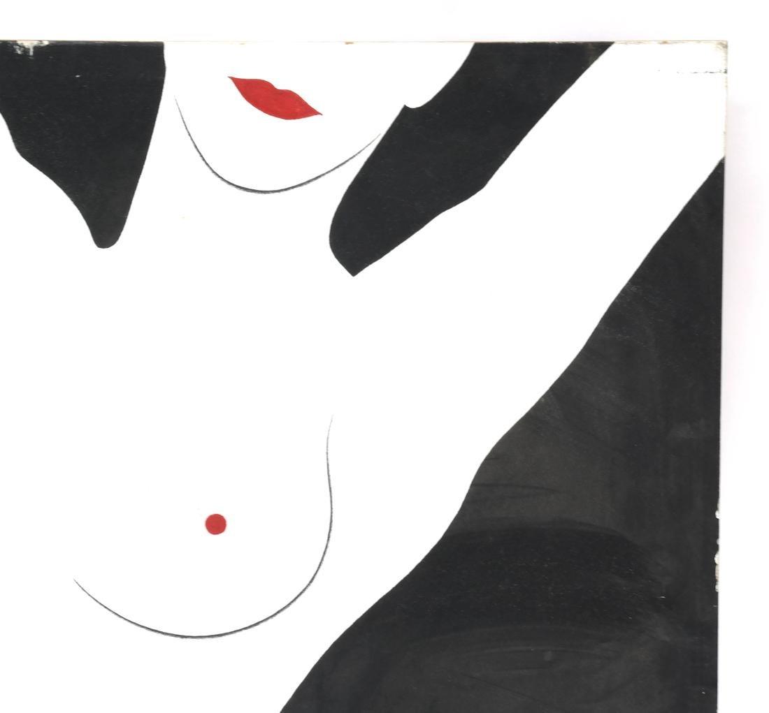 McKenzie, Oil on Masonite, Female Nude - 3