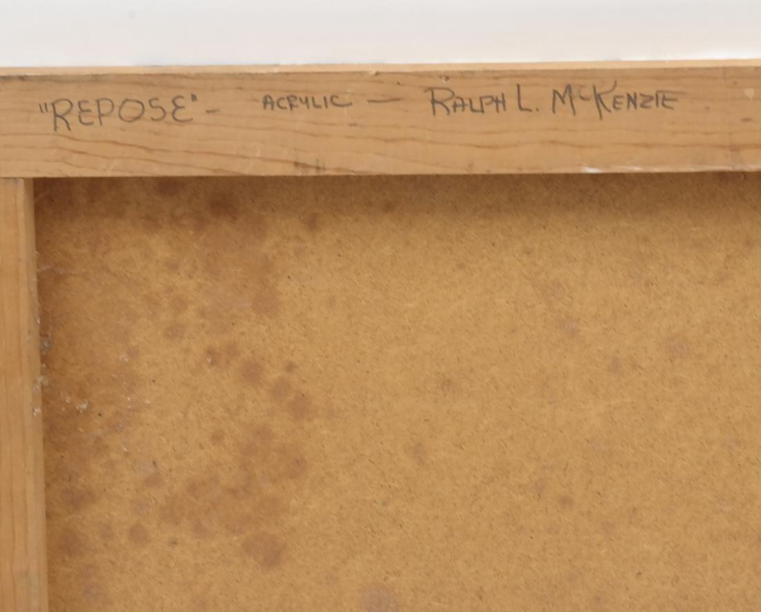 McKenzie, Oil on Masonite, Female Nude - 7