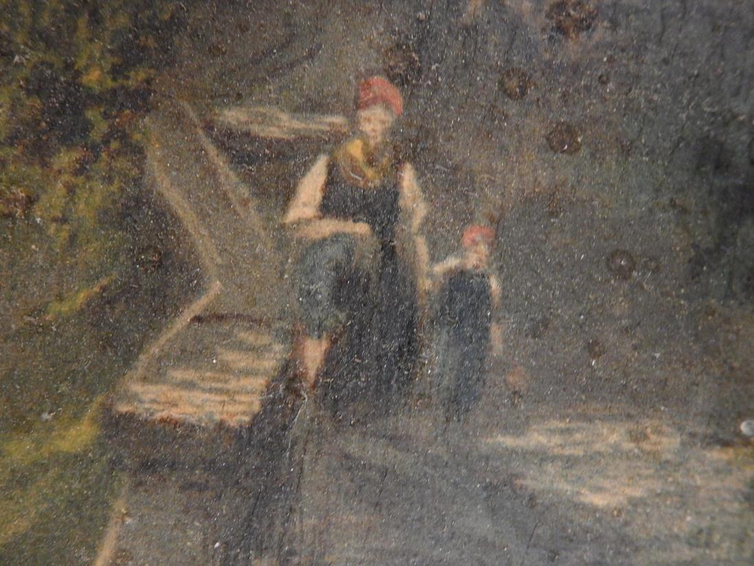 Miller Landscape-Figures at a Farm House - 5