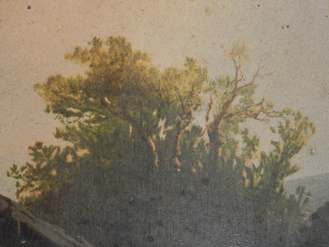 Miller Landscape-Figures at a Farm House - 6