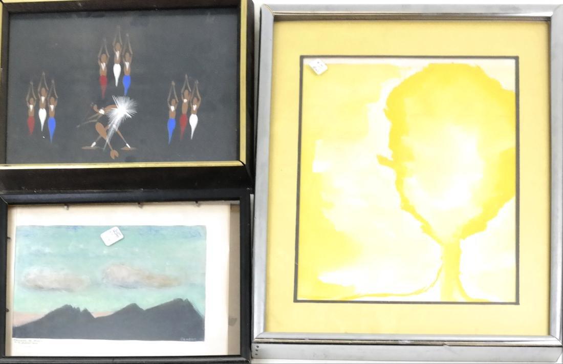Box Lot of Art - 2